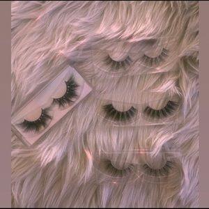 3D mink eyelash strips